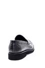 5638209822 Erkek Deri Kroko Desen Klasik Loafer