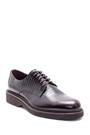 5638209831 Erkek Deri Baskılı Klasik Ayakkabı