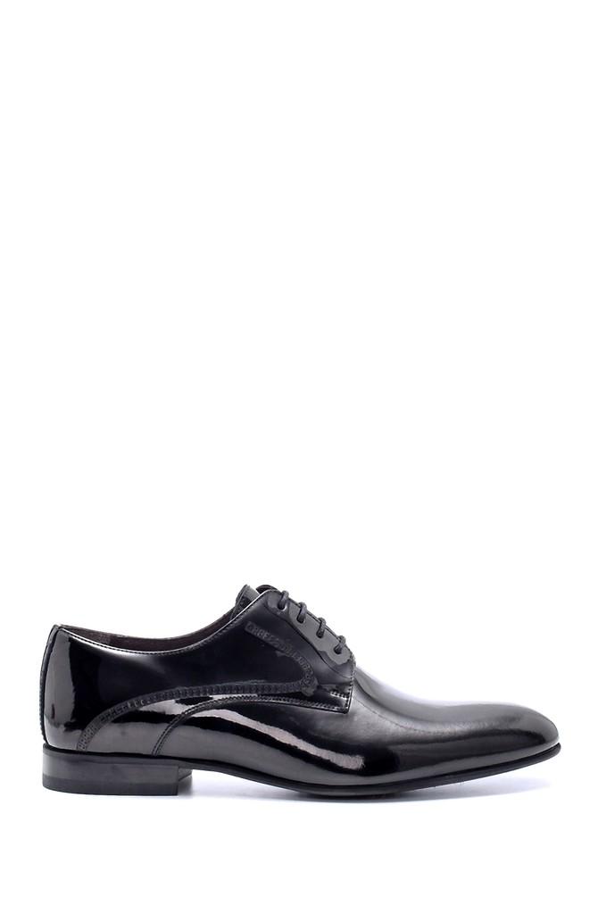 Siyah Erkek Deri Rugan Klasik Ayakkabı 5638213585