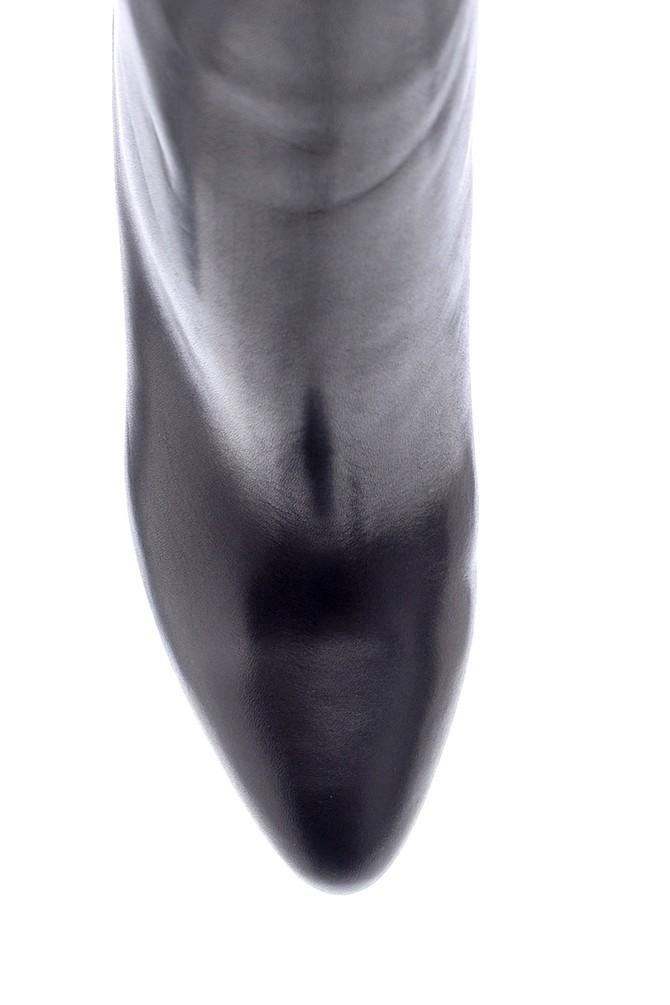 5638206164 Kadın Deri İnce Topuklu Bot