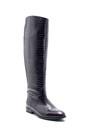 5638206260 Kadın Deri Kroko Desenli Çizme