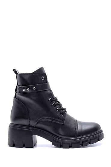 Siyah Kadın Topuklu Bot 5638213077