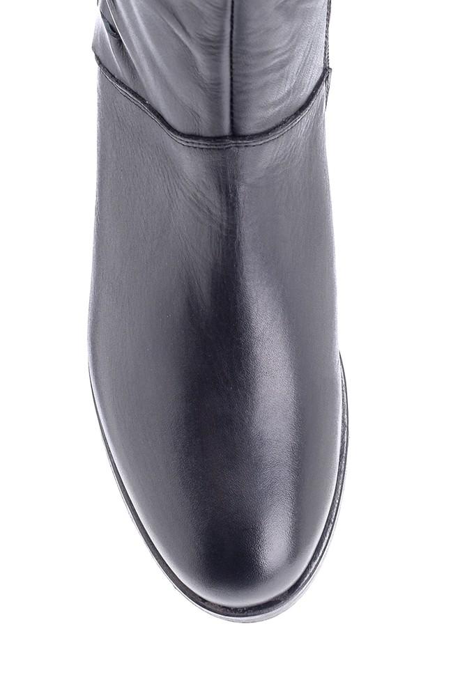 5638178137 Kadın Deri Çizme