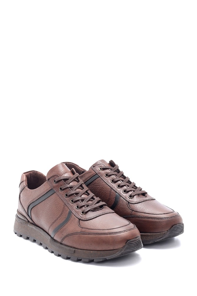5638197186 Erkek Deri Sneaker