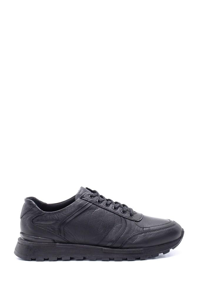 Siyah Erkek Deri Sneaker 5638197190