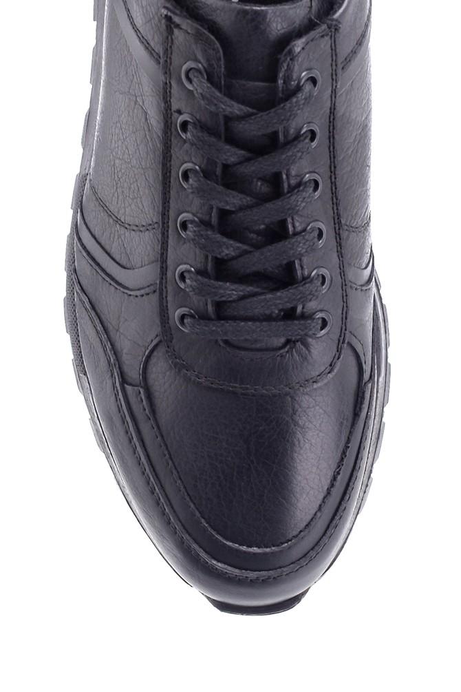 5638197190 Erkek Deri Sneaker
