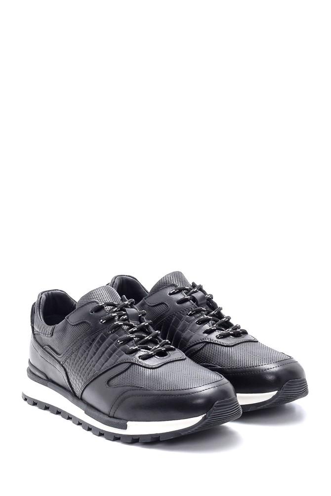 5638204526 Erkek Deri Sneaker