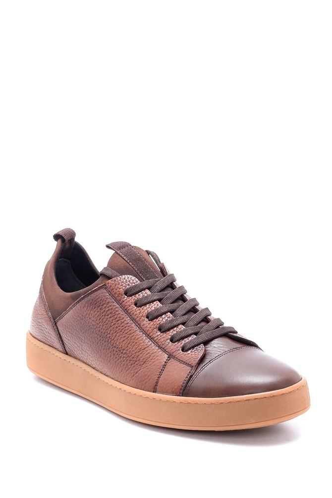 5638212483 Erkek Deri Sneaker