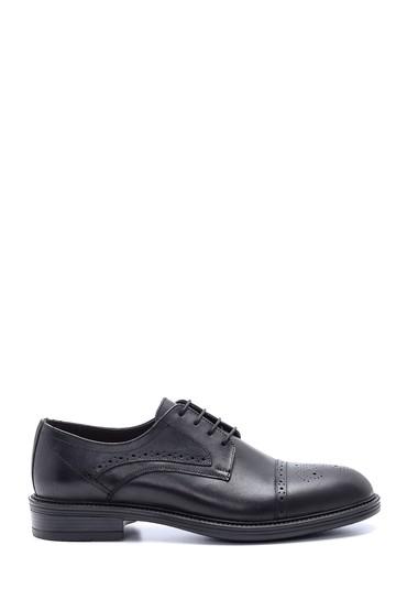 Siyah Erkek Deri Klasik Ayakkabı 5638214197
