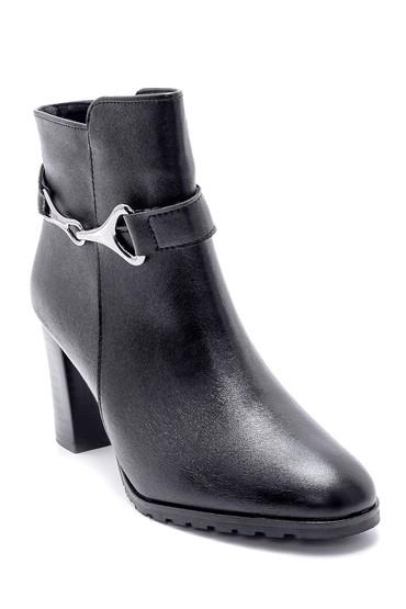 Siyah Kadın Topuklu Bot 5638178353
