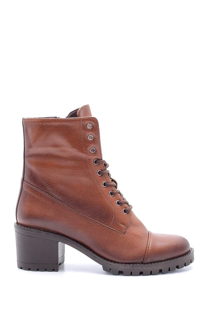 Kahverengi Kadın Topuklu Bot 5638178457