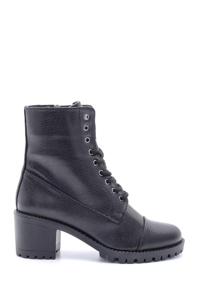 Siyah Kadın Topuklu Bot 5638178458
