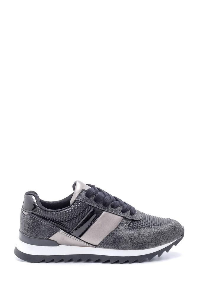 Siyah Kadın Sneaker 5638192111