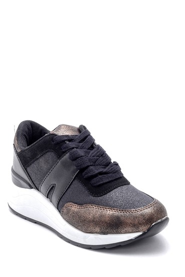 Siyah Kadın Sneaker 5638192119
