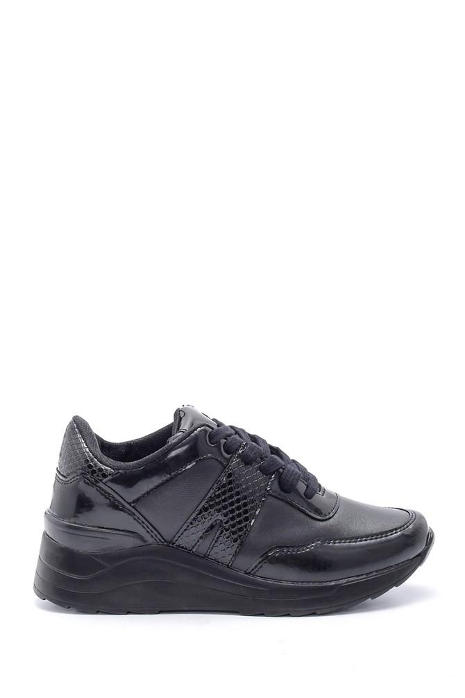 Siyah Kadın Sneaker 5638192137