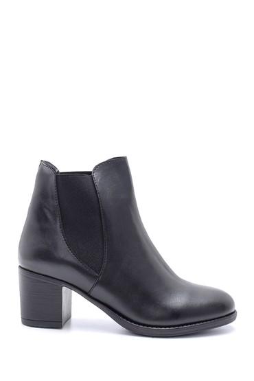 Siyah Kadın Topuklu Bot 5638199657