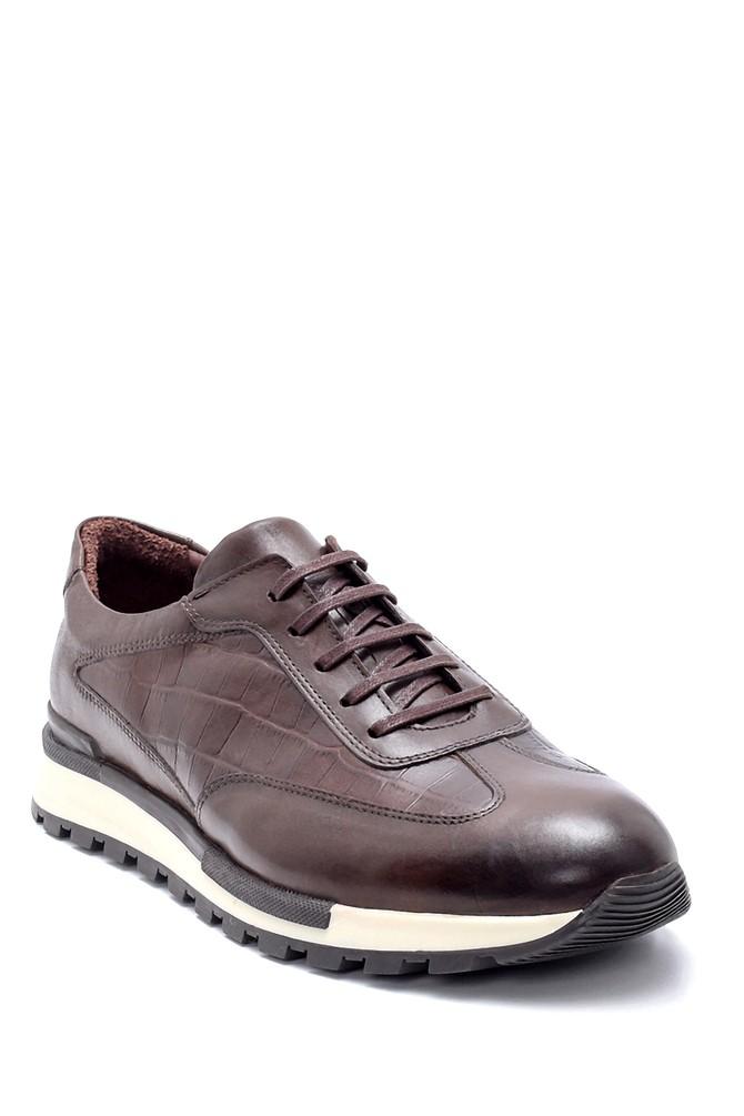 5638203320 Erkek Deri Sneaker