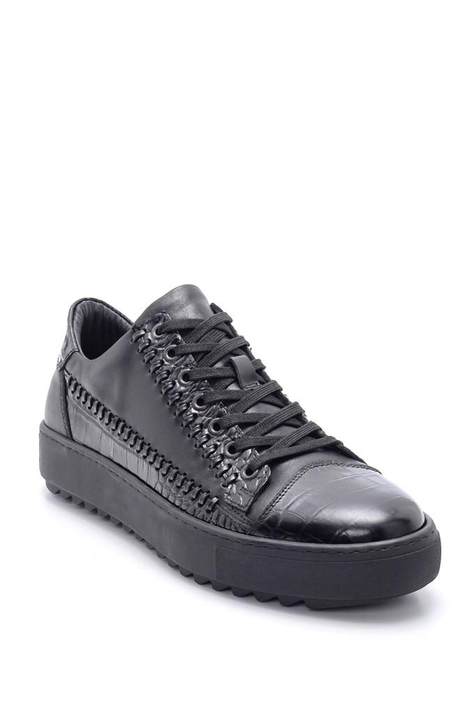 5638211022 Erkek Deri Sneaker