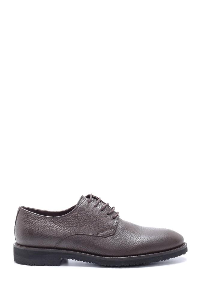 Kahverengi Erkek Deri Klasik Ayakkabı 5638211902