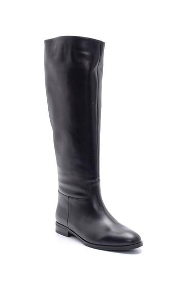 Siyah Kadın Deri Çizme 5638206250