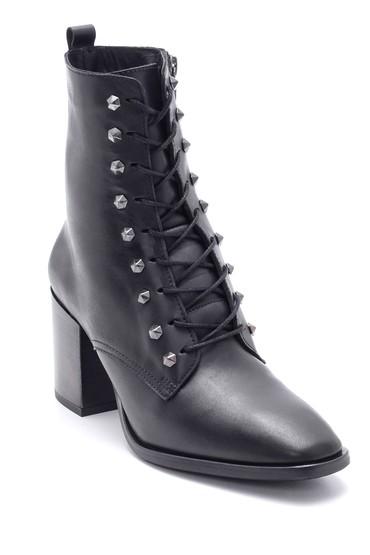 Siyah Kadın Deri Topuklu Bot 5638212965