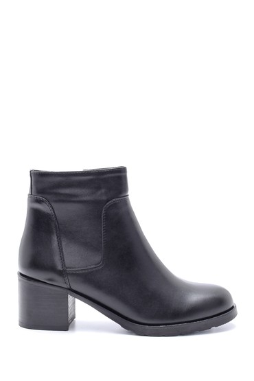 Siyah Kadın Topuklu Bot 5638213157