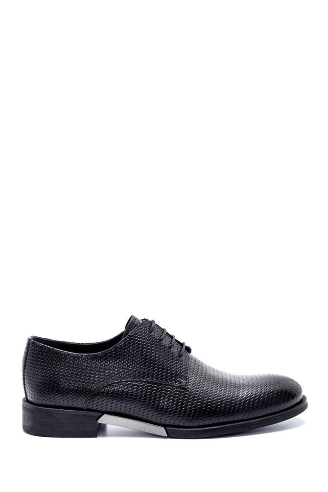 Siyah Erkek Deri Klasik Ayakkabı 5638208084