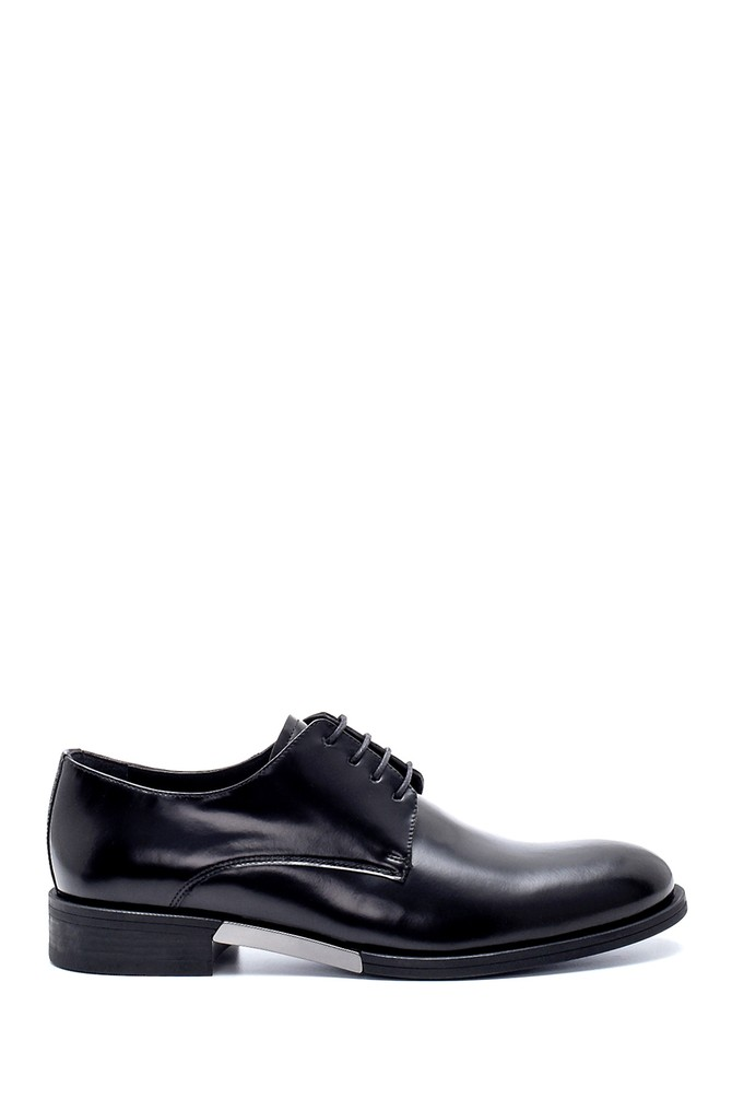Siyah Erkek Deri Klasik Ayakkabı 5638208096