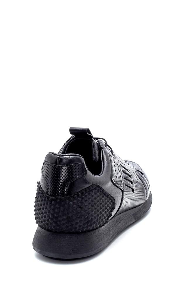 5638208269 Erkek Deri Sneaker
