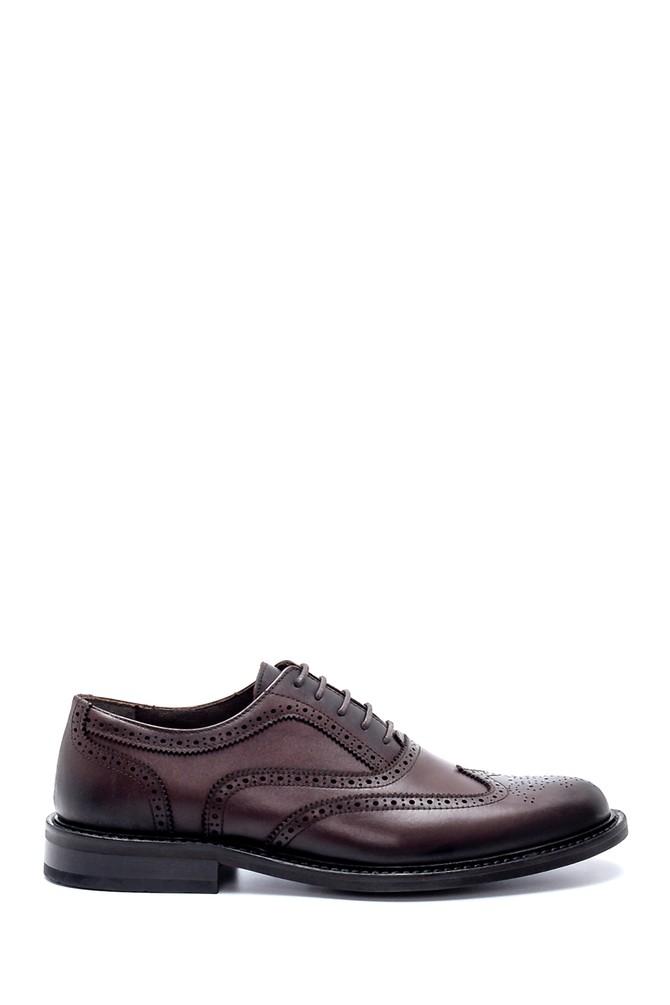 Kahverengi Erkek Deri Klasik Ayakkabı 5638213623