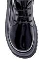 5638216530 Kadın Deri Rugan Kalın Tabanlı Ayakkabı