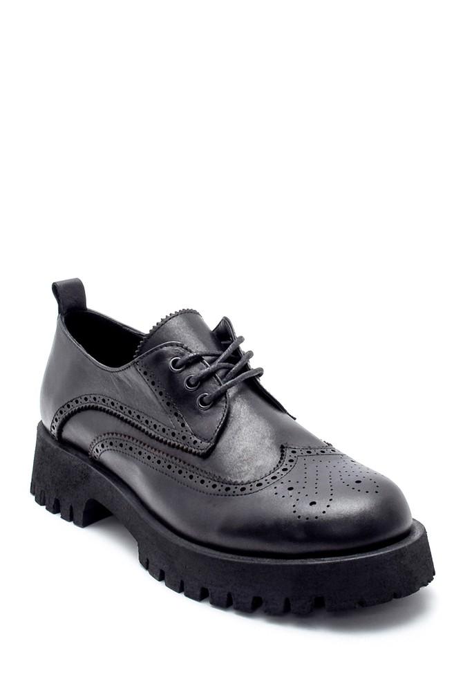 5638236585 Kadın Deri Ayakkabı