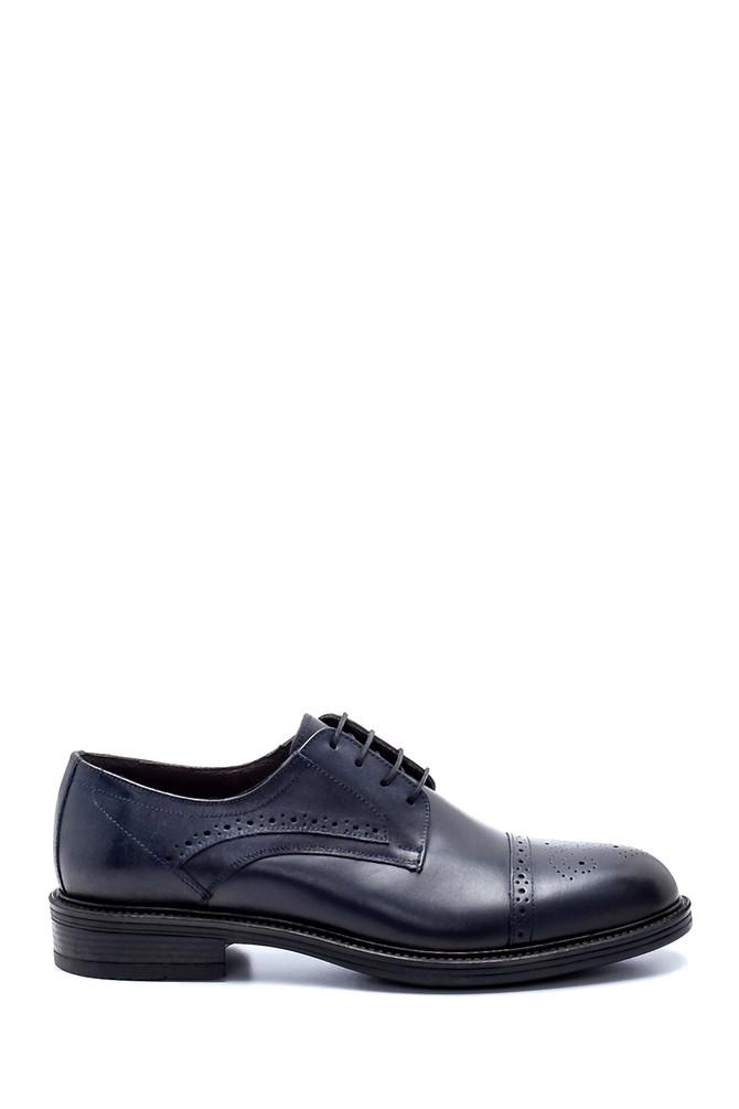Lacivert Erkek Deri Klasik Ayakkabı 5638214322