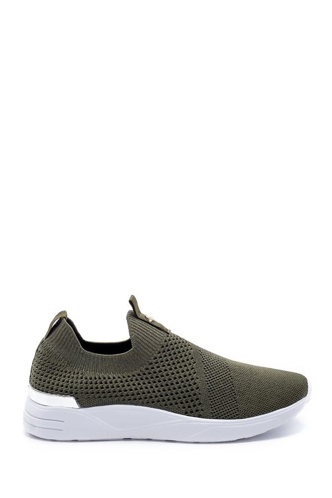 Yeşil Kadın Çorap Sneaker 5638191706
