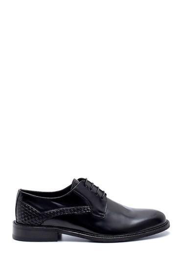 Siyah Erkek Deri Klasik Ayakkabı 5638200094
