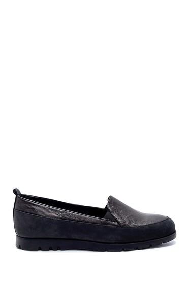 Siyah Kadın Deri Ayakkabı 5638202596