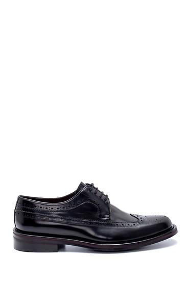 Siyah Erkek Deri Klasik Ayakkabı 5638208152
