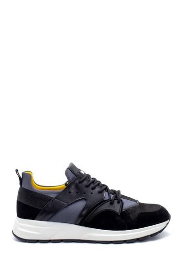 Siyah Erkek Deri Sneaker 5638210881
