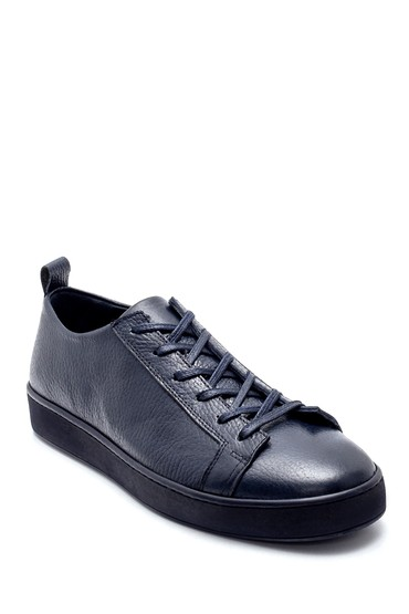 Lacivert Erkek Deri Sneaker 5638212847