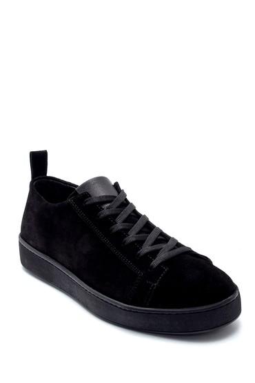 Siyah Erkek Süet Sneaker 5638212825