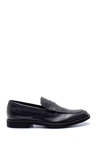 Siyah Erkek Deri Klasik Loafer 5638214862