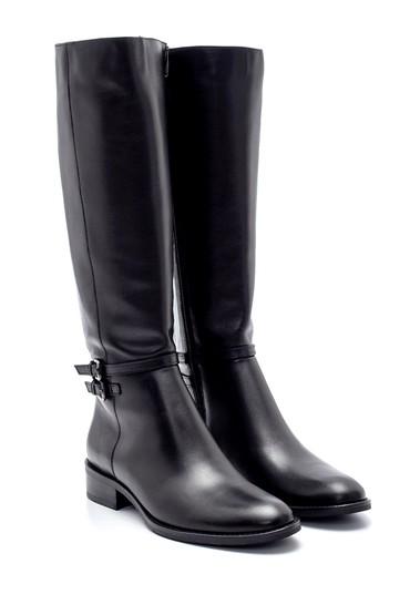 Siyah Kadın Deri Çizme 5638213013