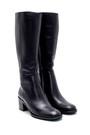 5638213027 Kadın Deri Topuklu Çizme