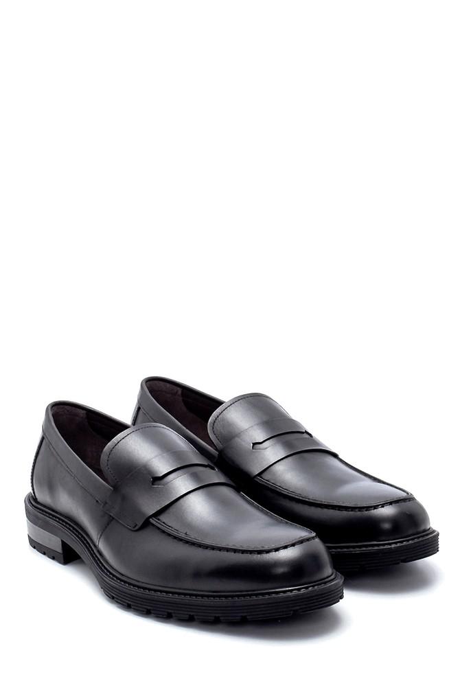 5638216474 Erkek Deri Klasik Loafer