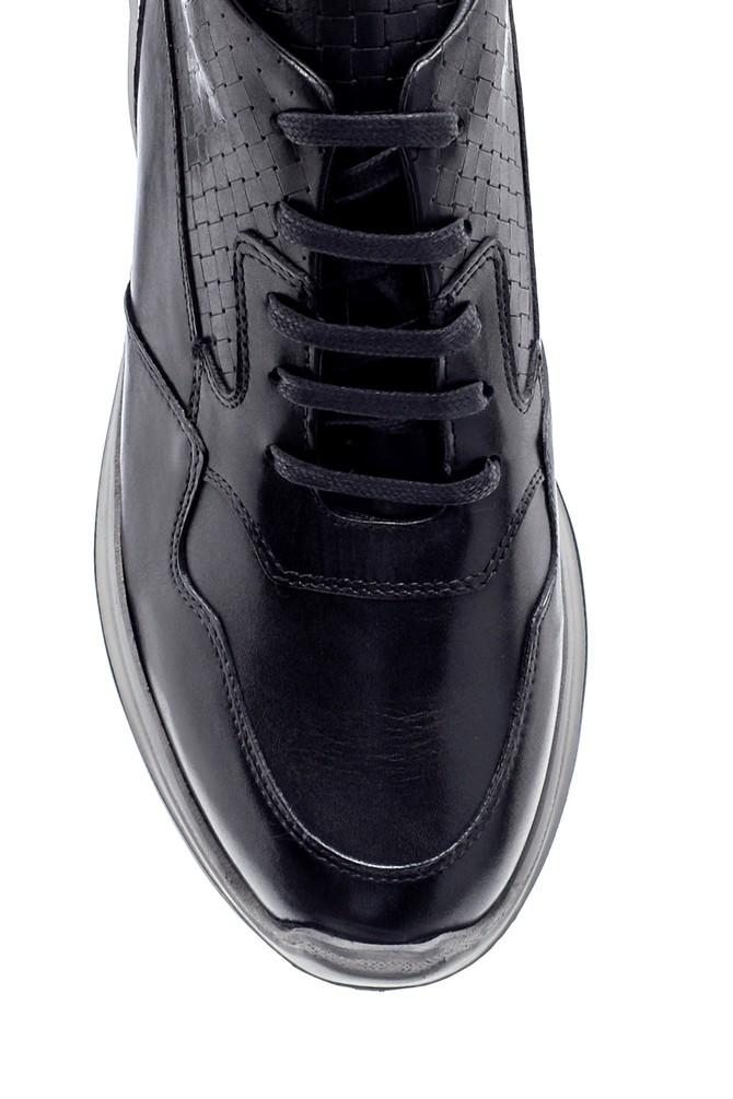 5638218592 Erkek Deri Sneaker