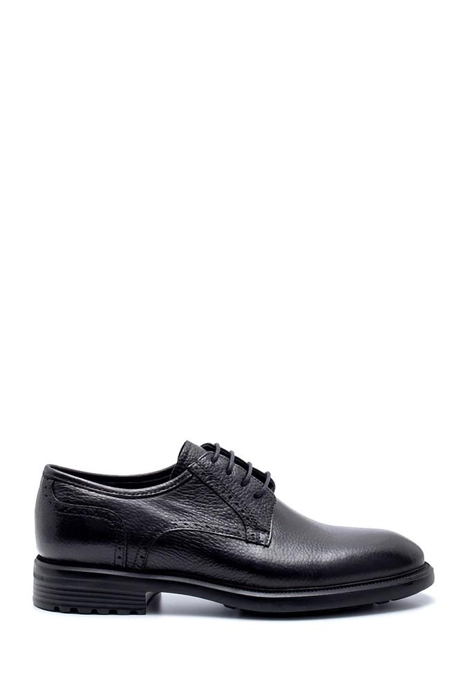 Siyah Erkek Deri Klasik Ayakkabı 5638218646