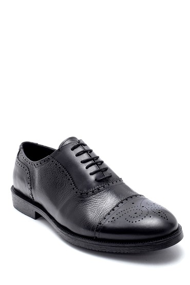 Siyah Erkek Deri Klasik Ayakkabı 5638218708