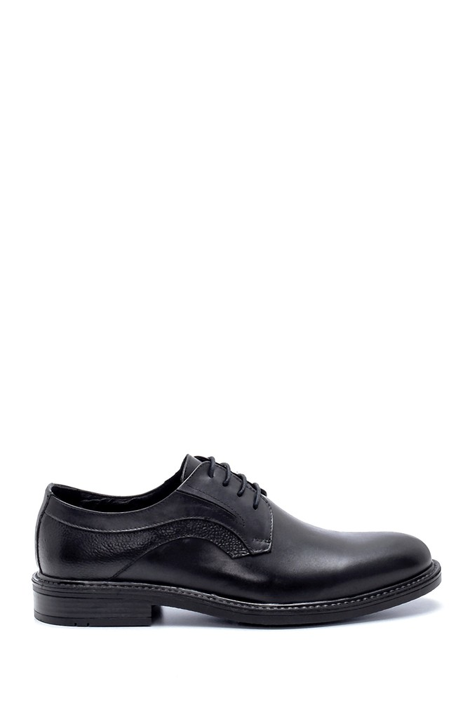 Siyah Erkek Deri Klasik Ayakkabı 5638218726