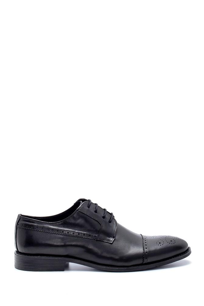 Siyah Erkek Deri Klasik Ayakkabı 5638218764