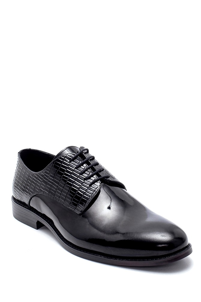5638218786 Erkek Deri Rugan Klasik Ayakkabı